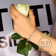 دستبند دخترانه فانتزی طرح جواهر