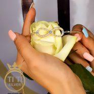 دستبند دخترانه فانتزی بی نهایت