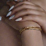 دستبند دخترانه نقره