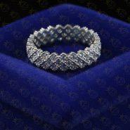 انگشتر پرنس نقره | انگشتر نقره دخترانه