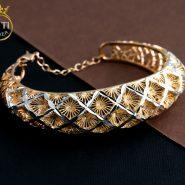 دستبند النگویی ژوپینگ طرح طلا