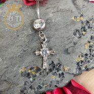 پيرسينگ ناف صلیب