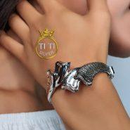دستبند نقره شیک و خاص