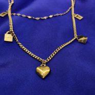 گردنبند دخترانه اسپرت طلایی