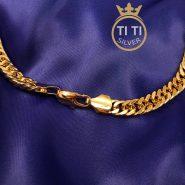 زنجیر مردانه کارتیر طرح طلا
