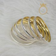 النگوی نقره روکش طلا